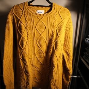 Men's Old Navy Cable Knit Sweater